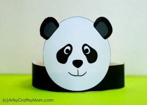 A panda crown