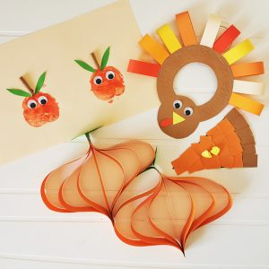 Fall arts and crafts ideas for toddlers and preschoolers